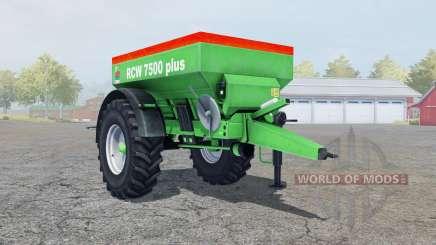 Unia RCW 7500 plus для Farming Simulator 2013