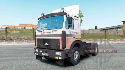 МАЗ-54323 v7.0 для Euro Truck Simulator 2