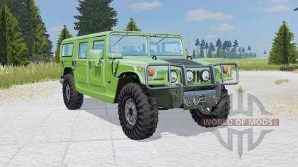 Hummer H1 Alpha Wagon 2006 для Farming Simulator 2015