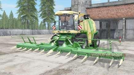 Krone BiG X 1100 vanilla для Farming Simulator 2017