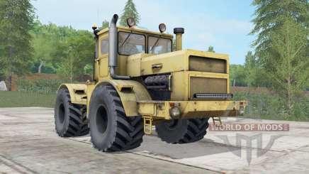 Кировец К-700А жёлтый окрас для Farming Simulator 2017