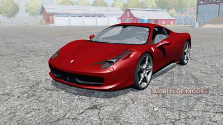 Ferrari 458 Italia 2009 для Farming Simulator 2013