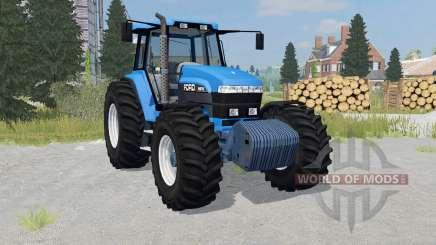 Ford 8970 rich electric blue для Farming Simulator 2015