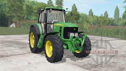 John Deere 6030&7030-series для Farming Simulator 2017