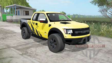 Ford F-150 SVT Raptor SuperCab 2009 для Farming Simulator 2017