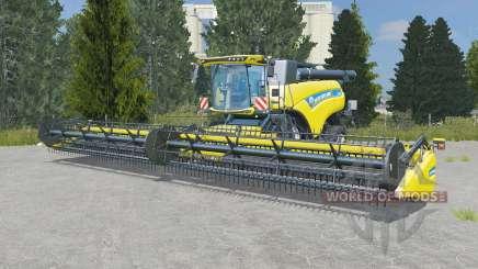 New Holland CR10.90 pantone yellow для Farming Simulator 2015