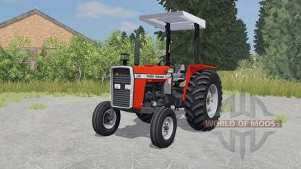 Massey Ferguson 290 coquelicot для Farming Simulator 2015