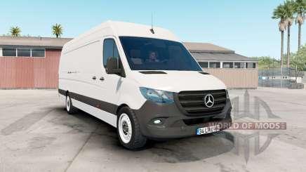 Mercedes-Benz Sprinter VS30 Van 316 CDI 2019 для American Truck Simulator