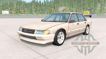 Ibishu Pessima 1988 rusty skin v0.2 для BeamNG Drive