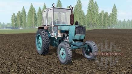 ЮМЗ-6КЛ фронтальный погрузчик для Farming Simulator 2017