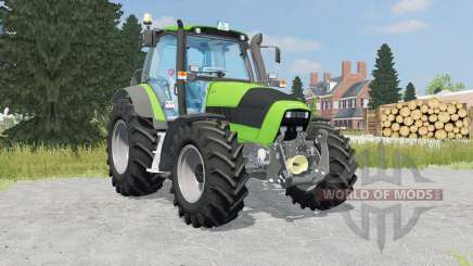 Deutz-Fahr Agrotron 165 kelly green для Farming Simulator 2015