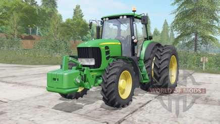 John Deere 7430&7530 Premium для Farming Simulator 2017