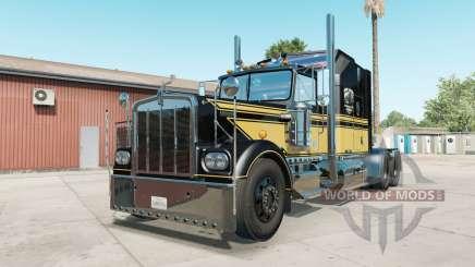 Kenworth W900A black для American Truck Simulator