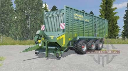 Strautmann Tera-Vitesse CFS 5201 DO hippie green для Farming Simulator 2015