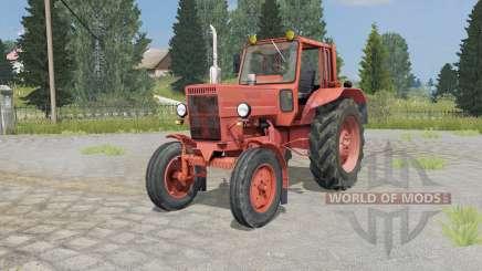 МТЗ-80 Беларус мягко-кҏасңый окҏас для Farming Simulator 2015
