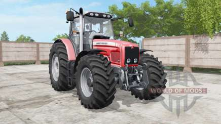 Massey Ferguson 6460-6495 deep carmine pink для Farming Simulator 2017