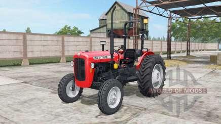 Tafe 42 DI light brilliant red для Farming Simulator 2017