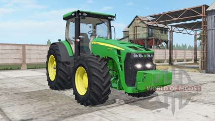 John Deere 8245R-8345R real GPS для Farming Simulator 2017