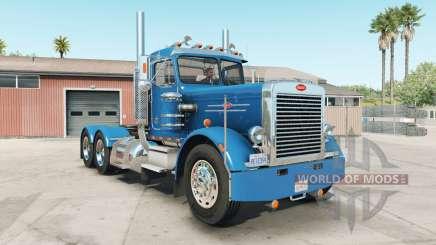 Peterbilt 359 rich electric blue для American Truck Simulator