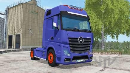 Mercedes-Benz Actros для Farming Simulator 2017
