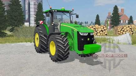 John Deere 8370R weight для Farming Simulator 2015