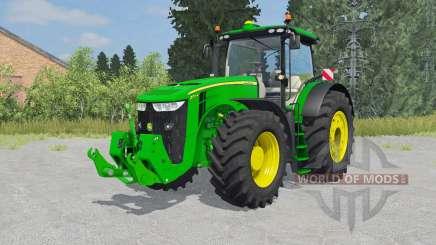 John Deere 7290R&8370R для Farming Simulator 2015