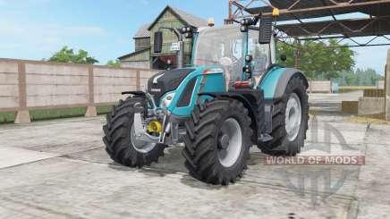 Fendt 714-724 Vario bondi blue для Farming Simulator 2017
