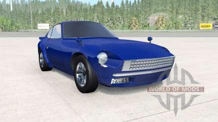 Nissan Fairlady Z (S30) Wangan Midnight Devil Z для BeamNG Drive