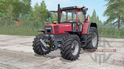 Fendt Favorit 509-515 C для Farming Simulator 2017