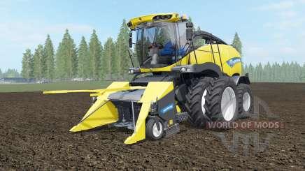 New Holland FR850 dual front wheels для Farming Simulator 2017