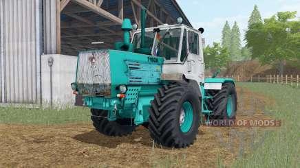 Т-150К окрас цвета тиффани для Farming Simulator 2017