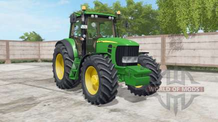 John Deere 7430&7530 для Farming Simulator 2017