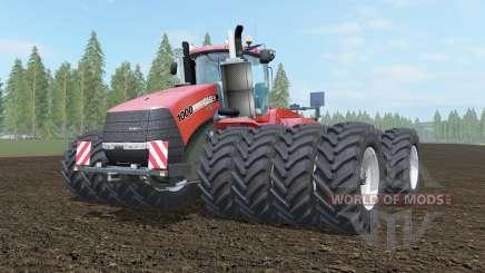 Case IH Steiger 1000 cinnabar для Farming Simulator 2017