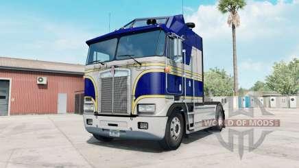 Kenworth K100E phthalo blue для American Truck Simulator
