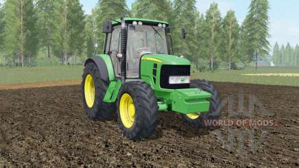John Deere 6030&7030 Premium with weights для Farming Simulator 2017