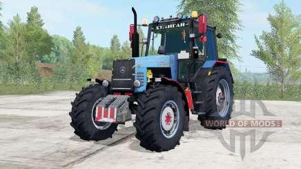 МТЗ-1221 Беларус синий окрас для Farming Simulator 2017