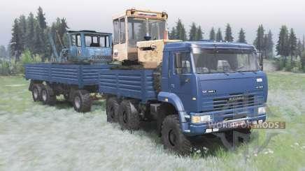 КамАЗ-6522 v2.0 для Spin Tires