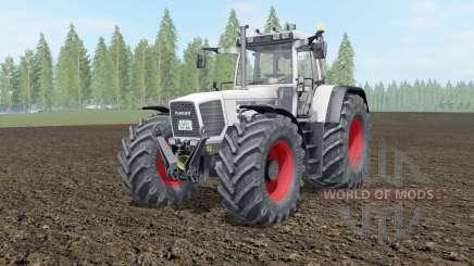 Fendt Favorit 816-824 Turboshift white smoke для Farming Simulator 2017