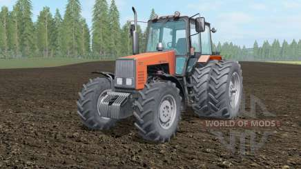 МТЗ-1221 Беларус светло-оранжевый окрас для Farming Simulator 2017