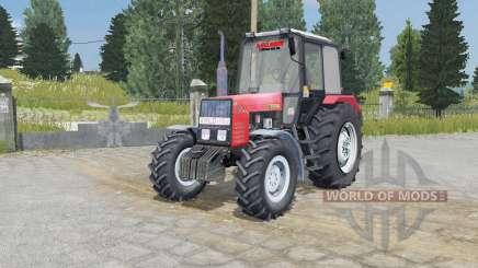 МТЗ-892.2 Беларус светло-красный окрас для Farming Simulator 2015