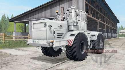 Кировец К-700А серовато-белый окрас для Farming Simulator 2017
