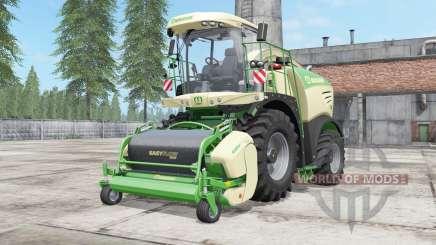 Krone BiG X 480 lime green для Farming Simulator 2017