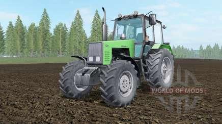 МТЗ-1221 Беларус салатовый окрас для Farming Simulator 2017