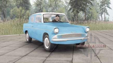 Ford Anglia (105E) 1959 для Spin Tires