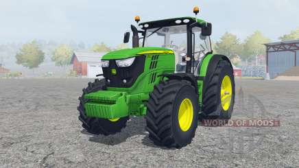 John Deere 6170R&6210R для Farming Simulator 2013