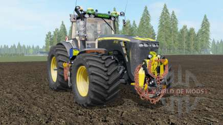 John Deere 8130-8530 Black Shadow для Farming Simulator 2017