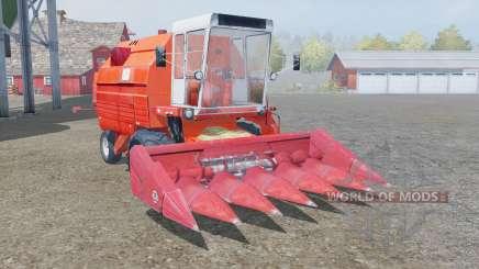Bizon Gigant Z083 smashed pumpkin для Farming Simulator 2013