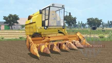 Bizon Gigant Z083 sandstorm для Farming Simulator 2015