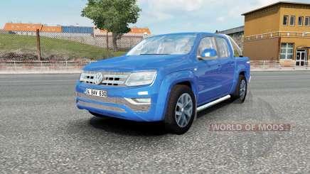 Volkswagen Amarok Double Cab Highline 2016 для Euro Truck Simulator 2