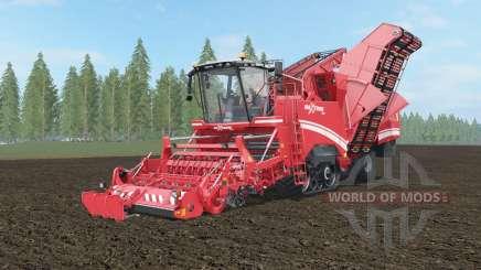 Grimme Maxtron 620 sizzling red для Farming Simulator 2017